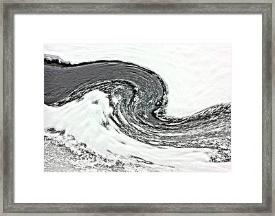 Shades Of Cold Framed Print