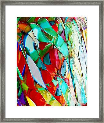 Shades Of Excitement Framed Print by Marcia Lee Jones