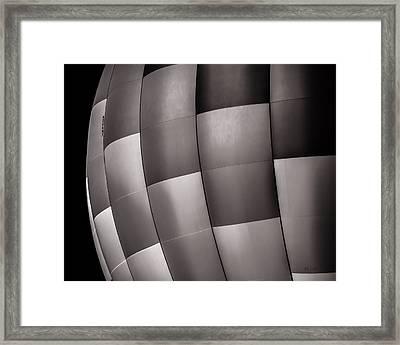 Shades Of Gray Framed Print by Bob Orsillo