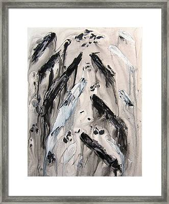 Shades Of Grey 10 Framed Print