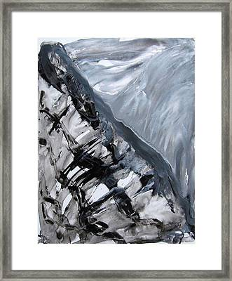 Shades Of Grey 2 Framed Print