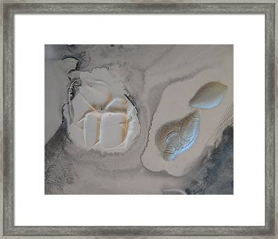Shades Of Grey 22 Framed Print by Sharon Jones