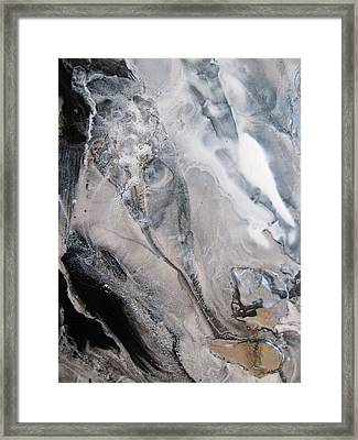 Shades Of Grey 23 Framed Print