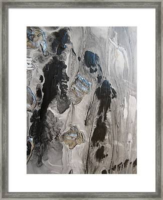 Shades Of Grey 33 Framed Print