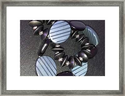 Shades Of Grey Framed Print by Catherine Ratliff
