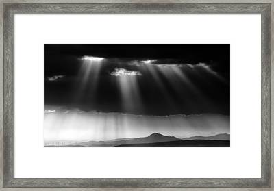 Shades Of Grey Framed Print by Stelios Kleanthous
