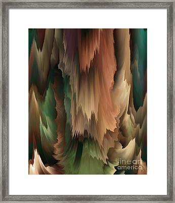 Shades Of Illumination Framed Print by Patricia Kay