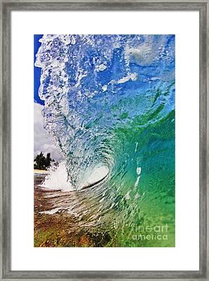 Shades Of Lani Framed Print by Paul Topp