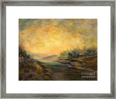 Shades Of Late Afternoon Framed Print
