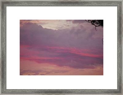Shades Of Morning Framed Print
