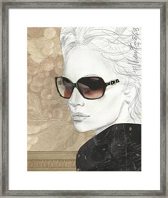 Shades Of Neutrality Framed Print by P J Lewis