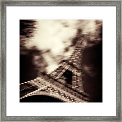 Shades Of Paris Framed Print by Dave Bowman
