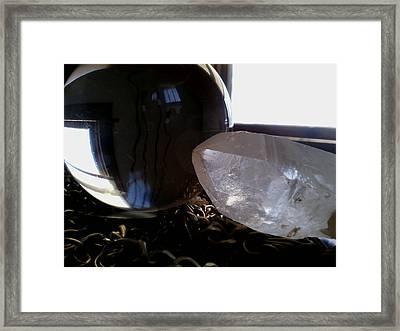 Shades Of Quartz Framed Print by Jaime Neo