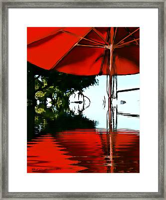 Shades Of Red Framed Print by Robert Smith