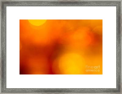 Shades Of Spheres Framed Print