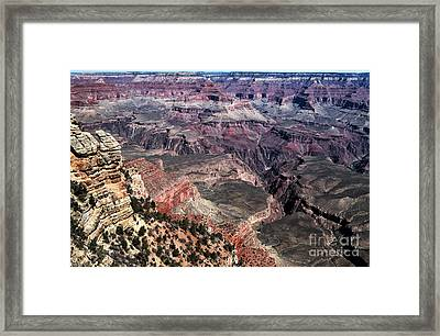 Shades Of The Canyon Framed Print