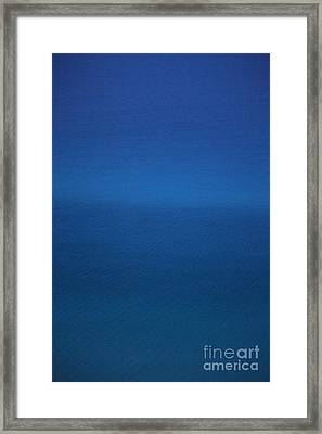 Shades Of The Caribbean Framed Print by Jennifer E Doll