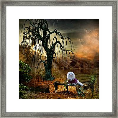 Shades Of The Fall  Framed Print