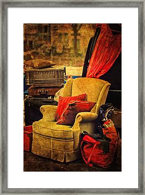 Shades Of The Past. Flea Market. Amsterdam Framed Print