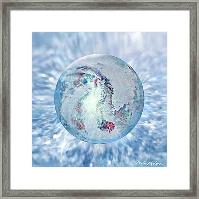 Shades Of Winter Framed Print by Robin Moline