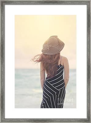 Shades Of Yesterday Framed Print by Evelina Kremsdorf