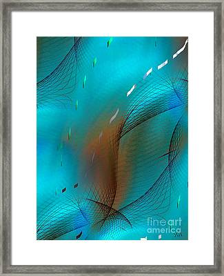 Movement Of Elegance Framed Print