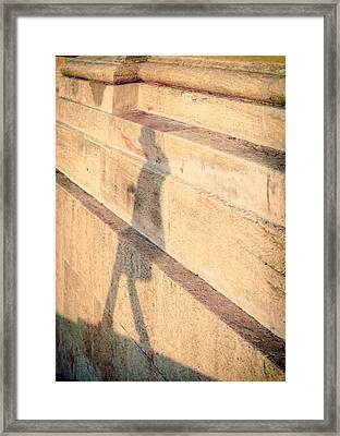 Shadow Framed Print by A Rey