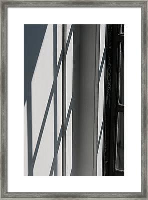Shadow And Light Framed Print by Barbara Bardzik