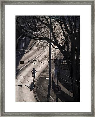 Framed Print featuring the photograph Shadow And Light by Muhie Kanawati