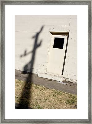 Shadow Arrival 2011 Framed Print by James Warren
