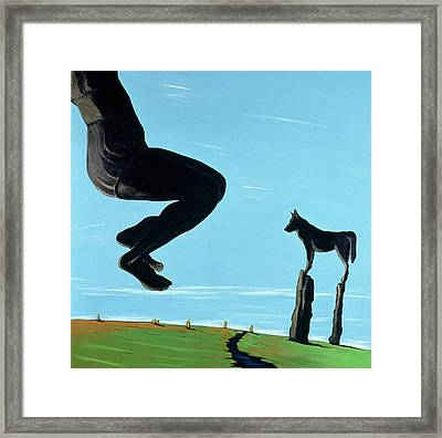 Shadow At Rest, 2000 Framed Print