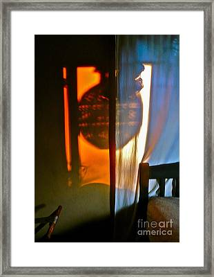 Shadow Dance Framed Print by Amy Fearn