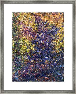 Shadow Dance Framed Print by James W Johnson