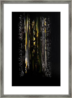 Shadow Gate Framed Print by Robert Horvath
