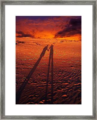 Shadow  Framed Print by Gray  Artus