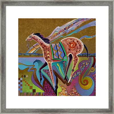 Shadow Horse Framed Print