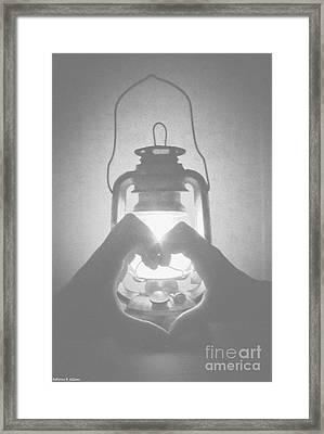 Shadow Framed Print by Katherine Williams