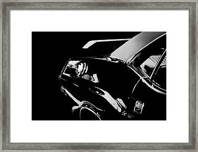 Framed Print featuring the photograph Shadow Of American Muscle by Aaron Berg