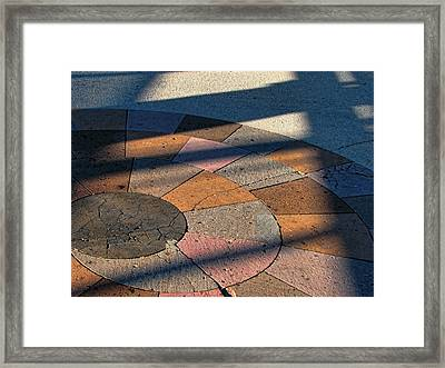 Shadow Play 1 Framed Print by Wendy J St Christopher
