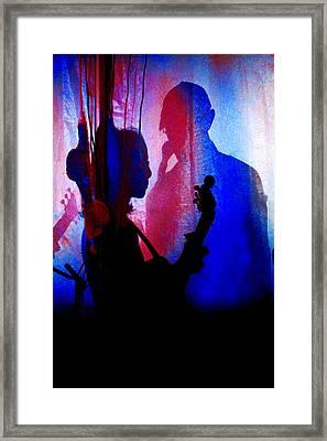 Shadow Play Framed Print by Mike Flynn