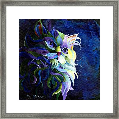 Shadow Puss Framed Print