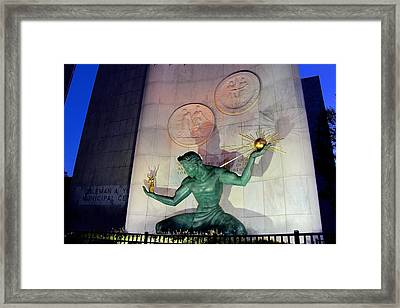 Shadow Spirit Framed Print