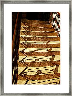 Shadow Steps Framed Print by JAMART Photography