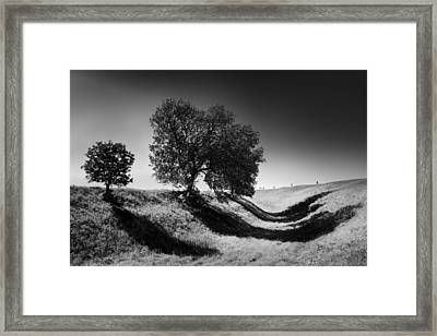 Shadow Time Framed Print by Julian Cook