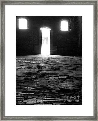 Shadow Windows  Framed Print by KayLee Byrtus