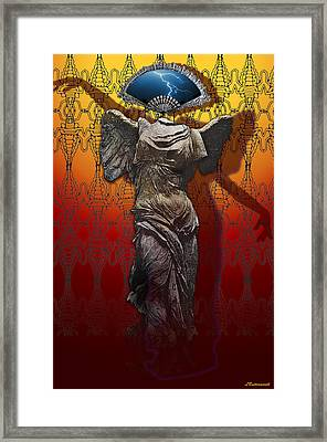 Shadowdancer Framed Print by Larry Butterworth