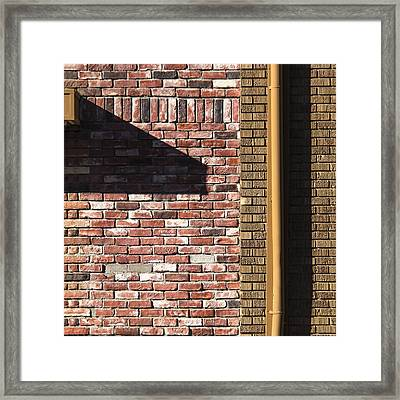 Shadowed Composition  Framed Print by Lee Harland
