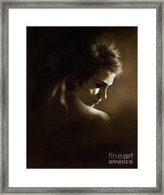 Shadowlight Framed Print by Robert Foster