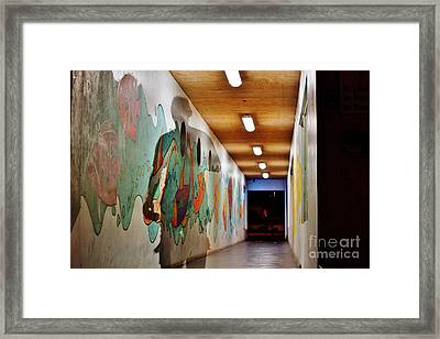 Shadowman Framed Print