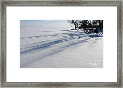 Shadowplay ... Black And White Framed Print by PhotoClique
